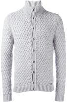 Woolrich woven cardigan