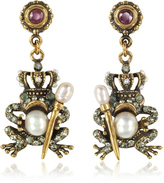 Alcozer & J The Frog Prince Earrings