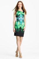 Roberto Cavalli Asymmetrical Neck Jersey Dress