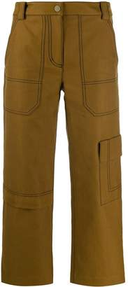 3.1 Phillip Lim cropped twill cargo trousers