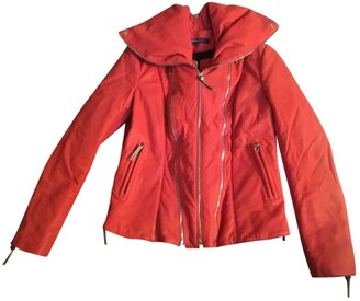 Jerome Dreyfuss red Leather Leather Jackets