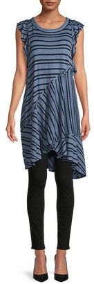 Free People Between The Lines Striped Dress
