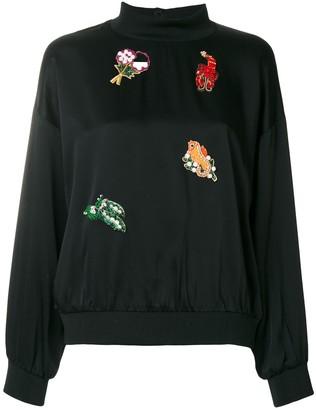 VIVETTA Embellished Sweatshirt