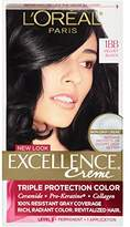 L'Oreal Excellence Creme, 1BB Velvet Black, (Packaging May Vary)