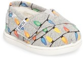 Toms Toddler Boy's Alpargata Glow In The Dark Slip-On