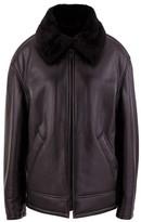 Balenciaga Bomber jacket with fake fur