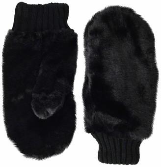 Collection XIIX Women's Faux Fur Mitten