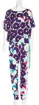 Diane von Furstenberg Silk Printed Pant Set