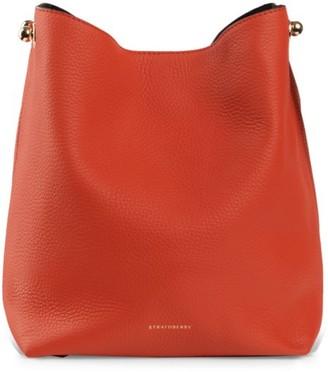 Strathberry Mini Lana Leather Hobo Bag