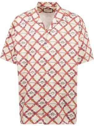 Gucci Oversize Paper Effect Shirt