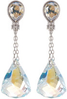 Swarovski Faceted Crystal Drop Earrings
