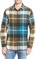 Tommy Bahama Men's Acai Plaid Flannel Cotton Sport Shirt