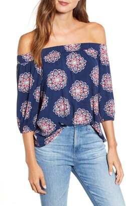 Loveappella Loveapella Off the Shoulder Top
