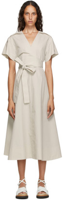 3.1 Phillip Lim Off-White Crossover Tied Dress