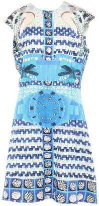 Mary Katrantzou Blue Viscose Dresses
