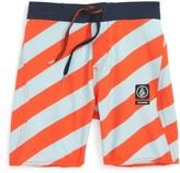 Volcom Toddler Boy's Stripey Jammer Board Shorts