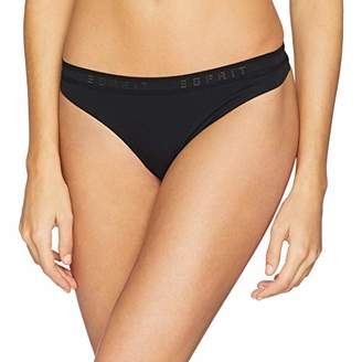 Esprit Bodywear Women's Audrey Hipster String Black 001, (Size: 38)