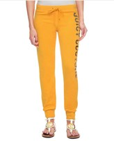 Juicy Couture Logo Terry Long Live Jc Slim Comfy Pant