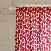 Minted Red flowers Curtains