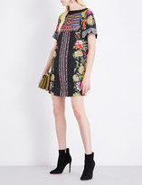 Etro Floral-print crepe tunic