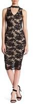 Blvd Sleeveless Lace Bodycon Dress