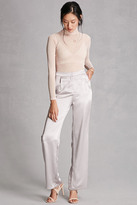 Forever 21 FOREVER 21+ Satin Palazzo Pants