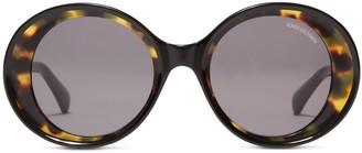 Oliver Goldsmith Sunglasses The 1960's Black Leopard