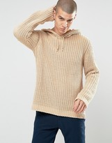 Asos Knitted Hoody in Chenille
