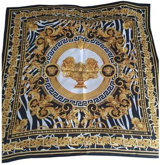 Versace Gold Silk Scarves