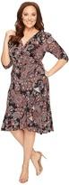 Kiyonna Flirty Flounce Dress Women's Dress