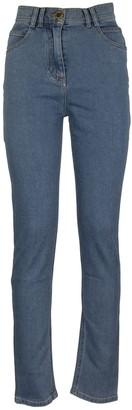 Balmain High-rise Jeans Skinny L.blue Trousers