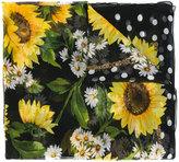 Dolce & Gabbana floral print scarf - women - Silk - One Size