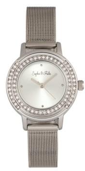 Cambridge Silversmiths Sophie and Freda Quartz Alloy Watches 28mm