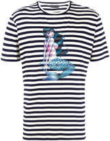 Etro striped T-shirt - men - Cotton - M