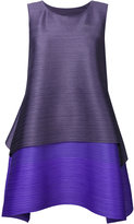 Pleats Please By Issey Miyake pleated texture layered dress