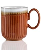 Denby Mug, Fluted Fire