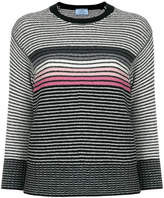 Prada striped crew neck sweater