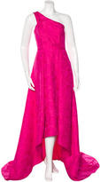Pamella Roland One-Shoulder High-Low Gown w/ Tags