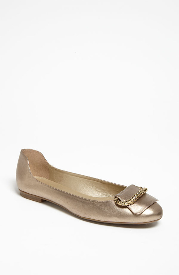 French Sole 'Feature' Flat