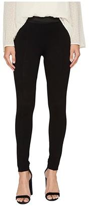 Kensie Compression Ponte Pants KS8K1S85 (Black) Women's Casual Pants