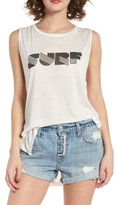 Billabong Women's Surf Graphic Muscle Tee