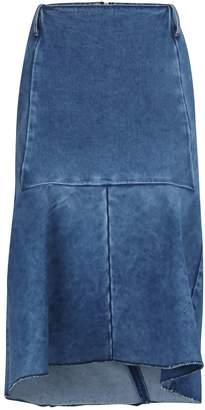Balenciaga C-shape Godet skirt