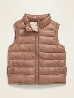 Old Navy Frost-Free Solid Puffer Vest for Toddler Girls