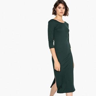 La Redoute Collections Basic Jersey Midi Dress