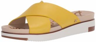 Sam Edelman Womens Audrea Lemon Slides 6 W