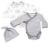 Infant Boy's Monica + Andy Jack & Jill 2-Pack Bodysuits & Beanie Set