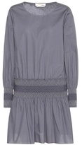 See by Chloe Smocked Cotton Dress