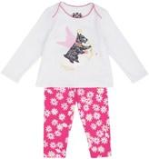 Juicy Couture Baby Knit Scottie Dog 2pc Legging Set