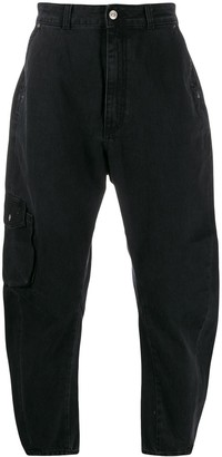 Tom Wood High-Waisted Tapered Jeans