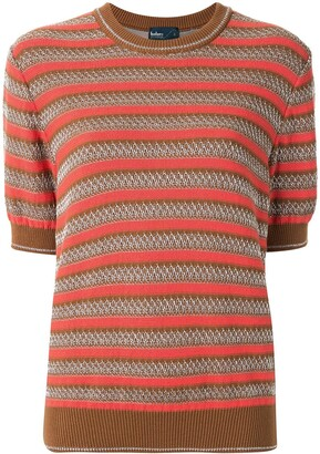 Kolor Striped Knitted Top